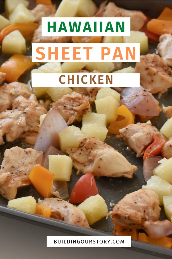 Hawaiian Sheet Pan Chicken. Sheet pan recipes. Sheet pan meals. This Hawaiian Chicken Sheet Pan Meal is an easy and delicious recipe that comes together in no time. #sheetpanmeals #hawaiianchicken Hawaiian chicken recipes. One pan meals. One Pan recipes.