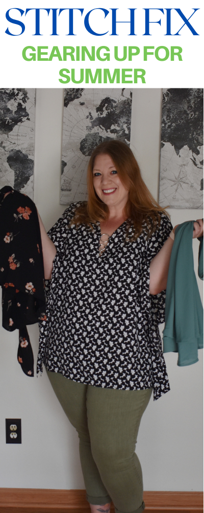 Summer Stitch Fix - great option for plus size fashion. Plus size stitch fix. What to expect when getting a Stitch Fix box.